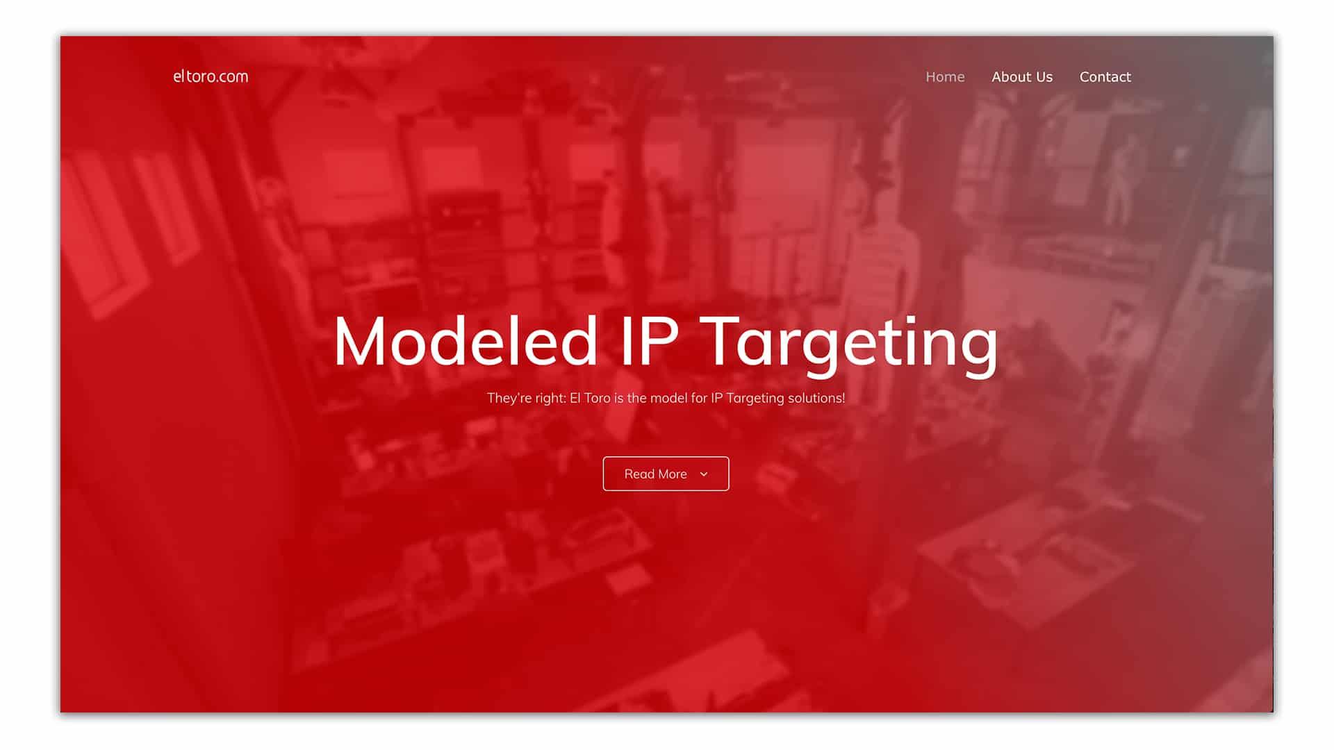 modeled ip targeting